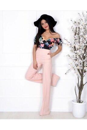Moda Avcilari by Gülcan Kadın Pembe Pantolon