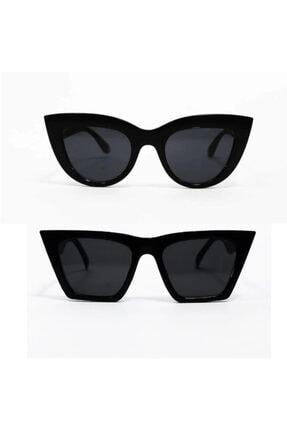 modaisleri Kadın Siyah 2'li Güneş Gözlüğü