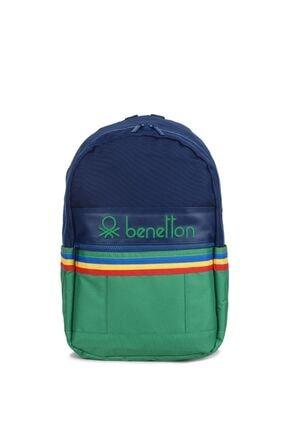 United Colors of Benetton Unisex Ön Bölmeli Sırt Çantası 70038