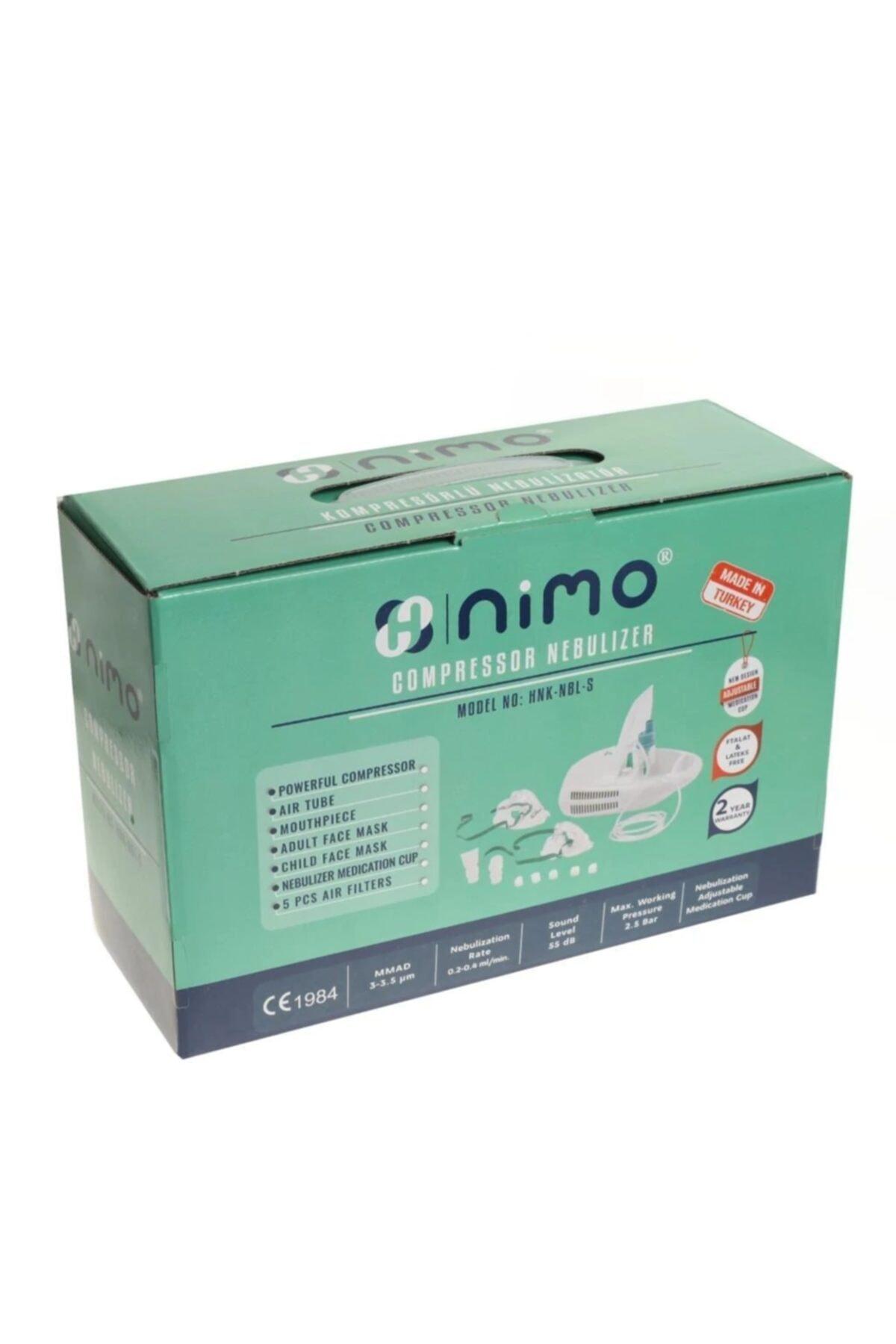 Nimo Kompresörlü Kapaklı Nebulizatör Cihazı 1