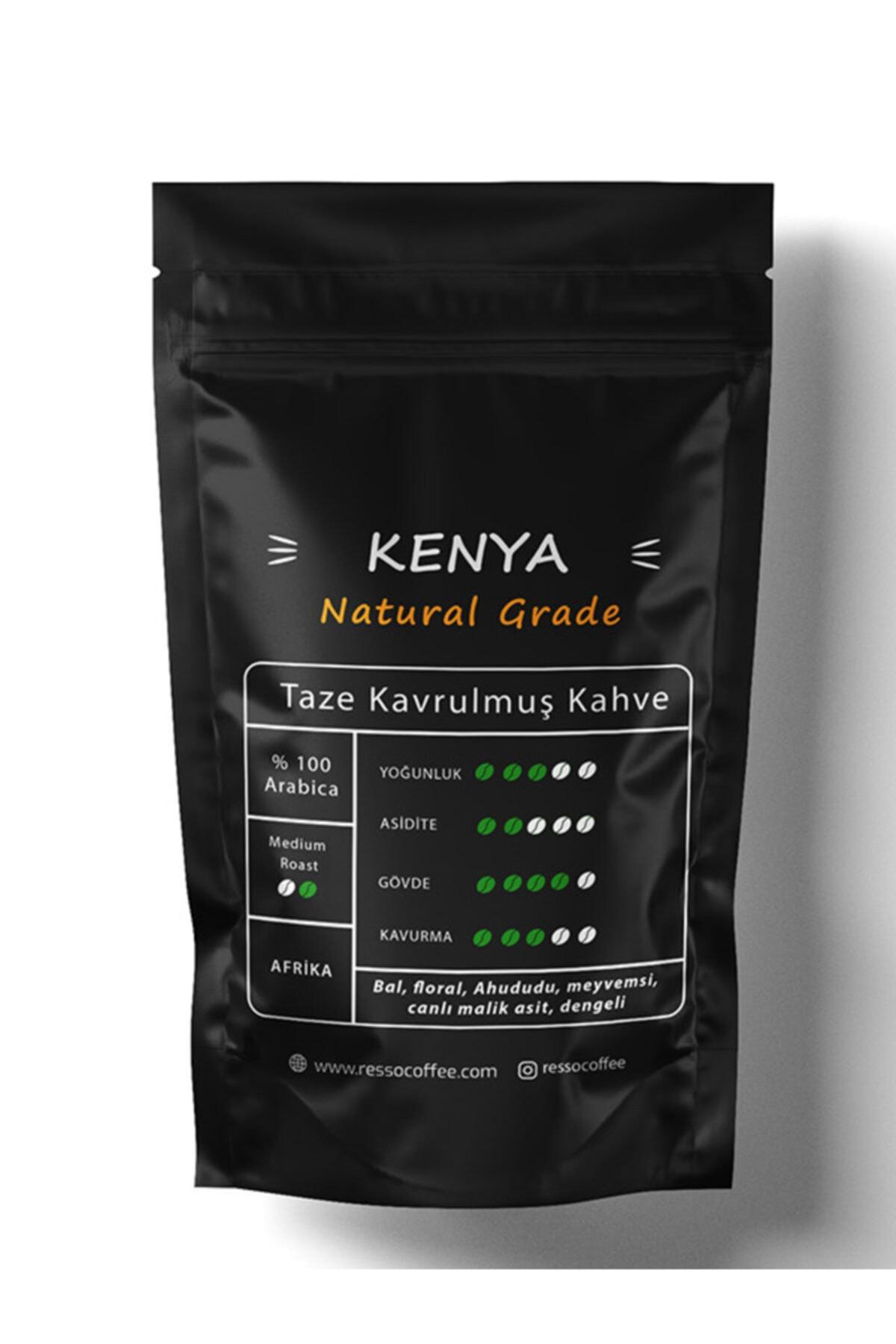 RESSO COFFEE Kenya /nat.grade (moka Pot) 250 Gr. Öğütülmüş Kahve 2
