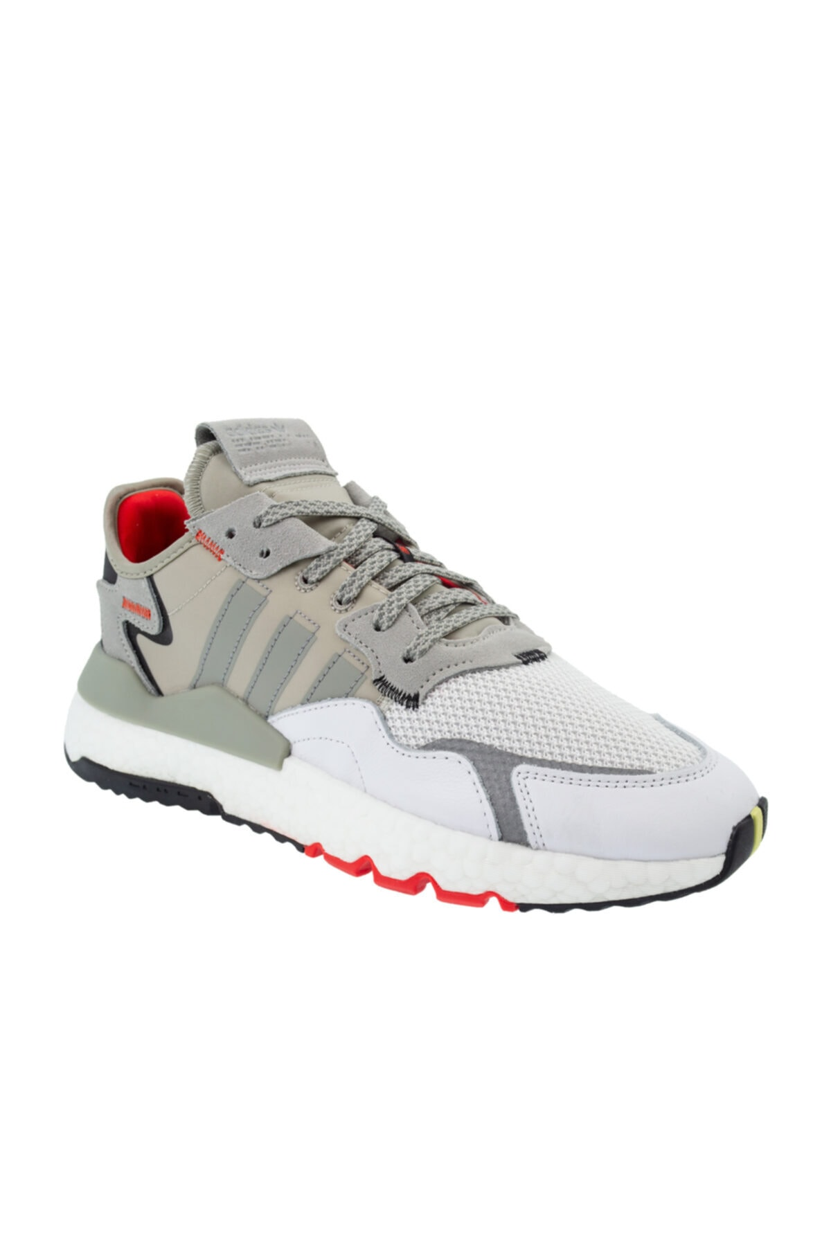adidas Erkek Gri Bağcıklı Spor Ayakkabı ef5409 1