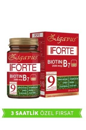 Zigavus Ultra Forte Biotin B7 30 Tablet (Saç, Tırnak ve Cilt) 8699349130008
