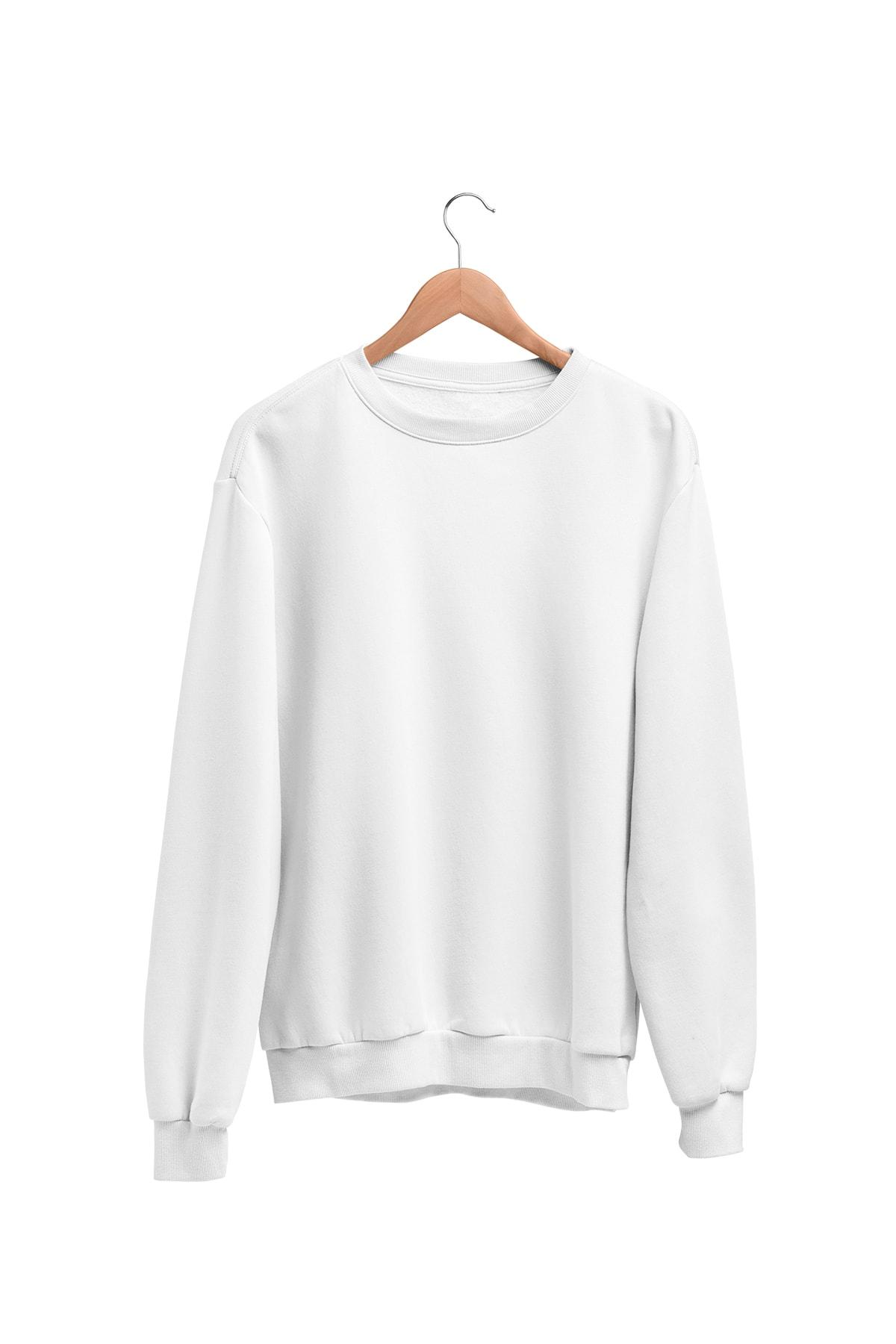 Angemiel Kadın Beyaz Wear Sweatshirt 1