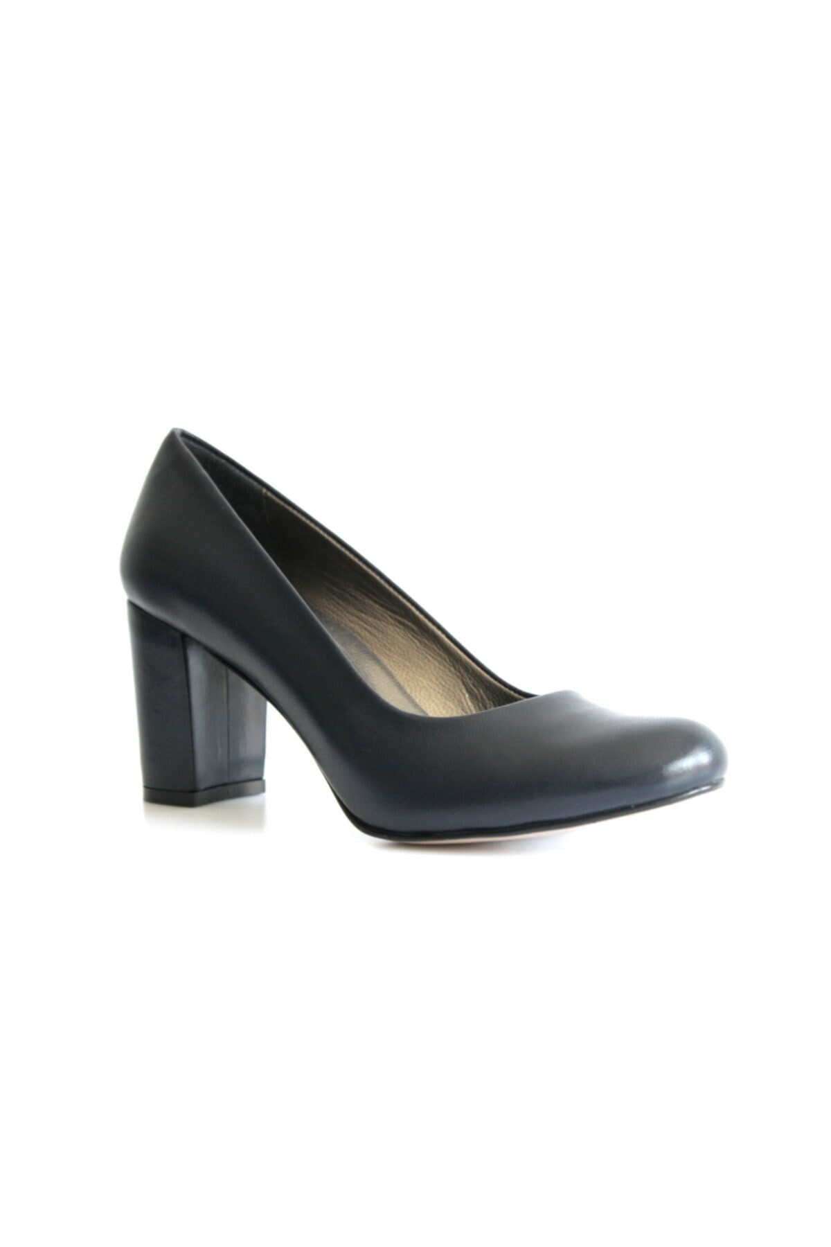 Beta Kadın Lacivert Deri Ayakkabı 1