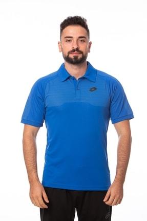 Lotto Polo T-shirt Erkek Saks Mavi-jakar Polo-r8885