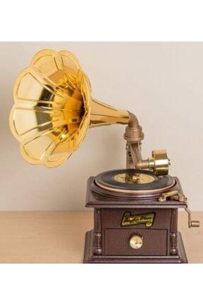 MOBGİFT Gramofon Müzik Kutusu