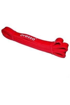 AVESSA Kırmızı Direnç Egzersiz Lastiği 21 Mm