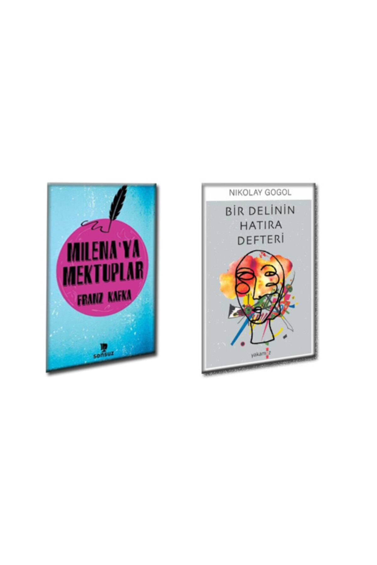 Yakamoz Yayınları Nikolay Gogol Bir Delinin Hatıra Defteri Franz Kafka Milenaya Mektuplar 1