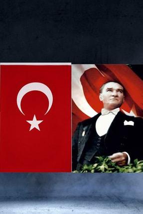 ibsALPİN BAYRAK 150x225cm Raşel Türk Bayrağı  150x225cm Raşel Atatürk Posteri