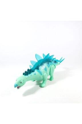Oyuncak Filesi Yürüyen Sesli Işıklı 30 cm Kutulu Oyuncak Dinozor