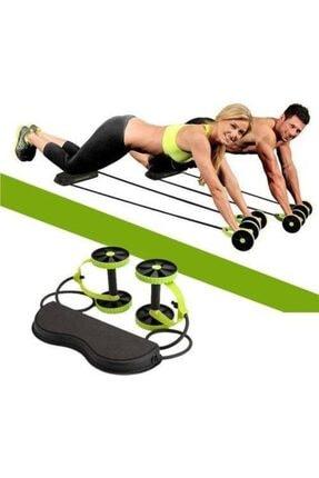 Mashotrend Tekerlekli Egzersiz Spor Aleti Lastikli Karın Kası Göbek Eritme Tekerleği Cihazı
