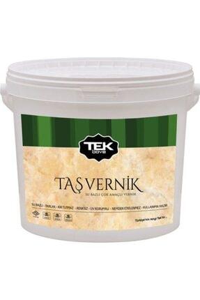 TEK BOYA Su Bazlı Taş Vernik 2,5 Litre Seramik veya Taş Yüzeylerde Gönül Rahatlığı ile Kullanım