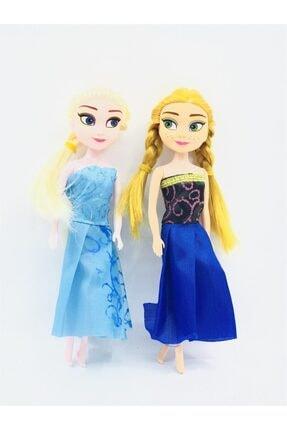 Frozen Mini Elsa Anna 2'li Oyuncak Bebek