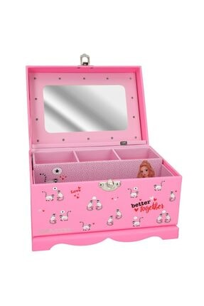 Top Model Jewellery Box With Light Makyaj Çanta