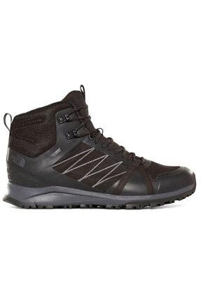 THE NORTH FACE Erkek Siyah Outdoor Ayakkabı Nf0a47heca01 M Lw Fp Ii Mid Wp