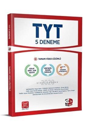 Çözüm Yayınları Çözüm 3d Yayınları Tyt 5 Deneme Tamamı Video Çözümlü