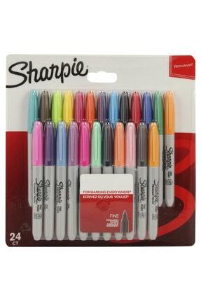 Sharpie Fine Permanent Markör 24 Renk 2065405