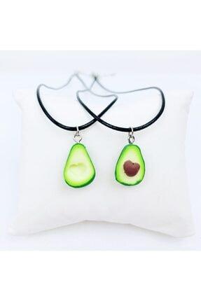 EFBUTİK Kadın Yeşil Renk Avokado Bff Kolyeleri