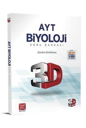 Çözüm Yayınları Çözüm 3d Yayınları Ayt Biyoloji Soru Bankası