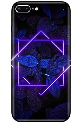 Noprin Apple Iphone 7 Plus Kılıf Silikon Baskılı Desenli Arka Kapak