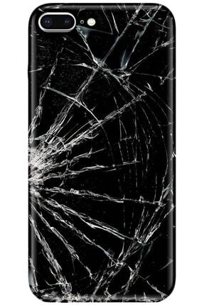 Turkiyecepaksesuar Apple Iphone 7 Plus Kılıf Silikon Baskılı Desenli Arka Kapak