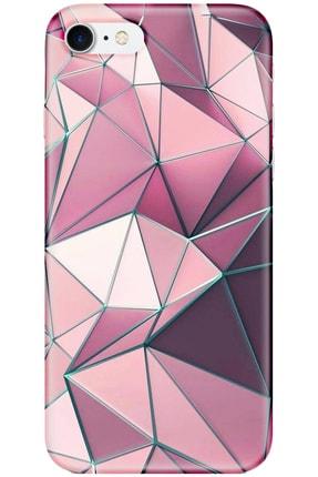 Turkiyecepaksesuar Apple Iphone 7 Kılıf Silikon Baskılı Desenli Arka Kapak