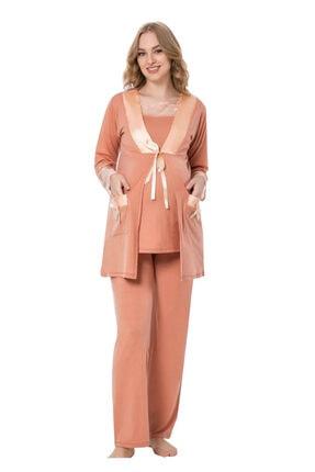 JENİKA Lohusa Pijama Takımı 35697 Hamile Pijaması