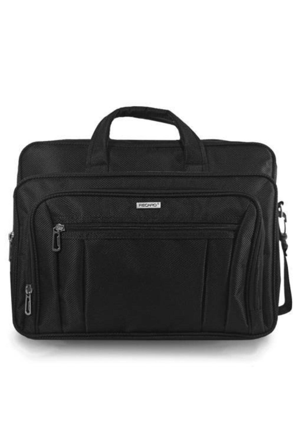 Recaro Business 15.6 Inç Laptop Notebook El Ve Omuz Çantası Siyah 1
