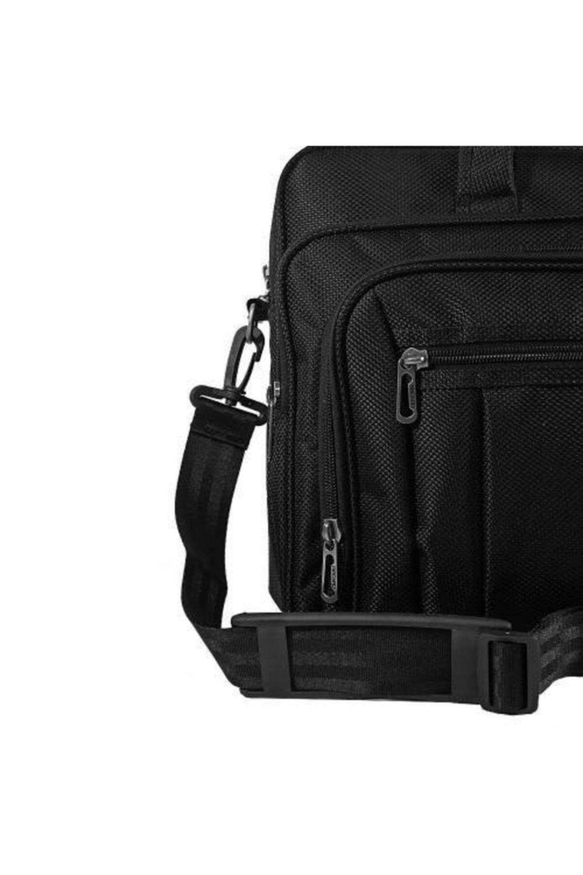 Recaro Business 15.6 Inç Laptop Notebook El Ve Omuz Çantası Siyah 2