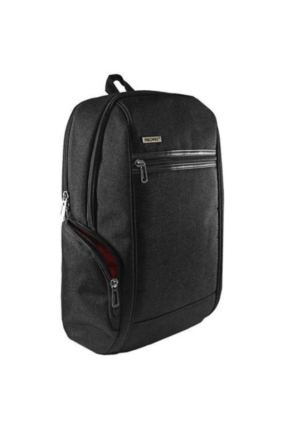 Recaro 15.6 Inç Özel Seri Tam Korumalı Business Laptop Notebook Sırt Çantası Siyah 1