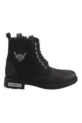 Hammer Jack Erkek Siyah Günlük Deri Bot Ayakkabı 15200m
