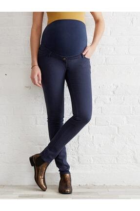 Colline Koyu Mavi Slim Hamile Kot Pantolon