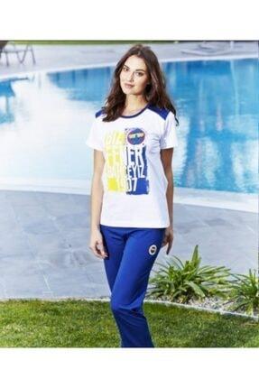 ROLY POLY Kadın Beyaz Lacivert Sarı Fenerbahçe Spor Takım