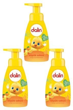 Dalin Köpük Sabun Mango ve Portakal Kokulu 200 ml X 3 Adet