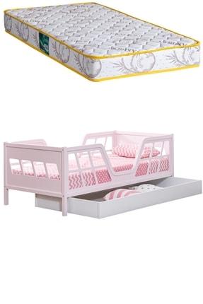 Setay Montessori Yatak Viva Montessori Karyola Pembe Full Mdf, Yavrulu Yatak  Comfort Ortopedik Yatak