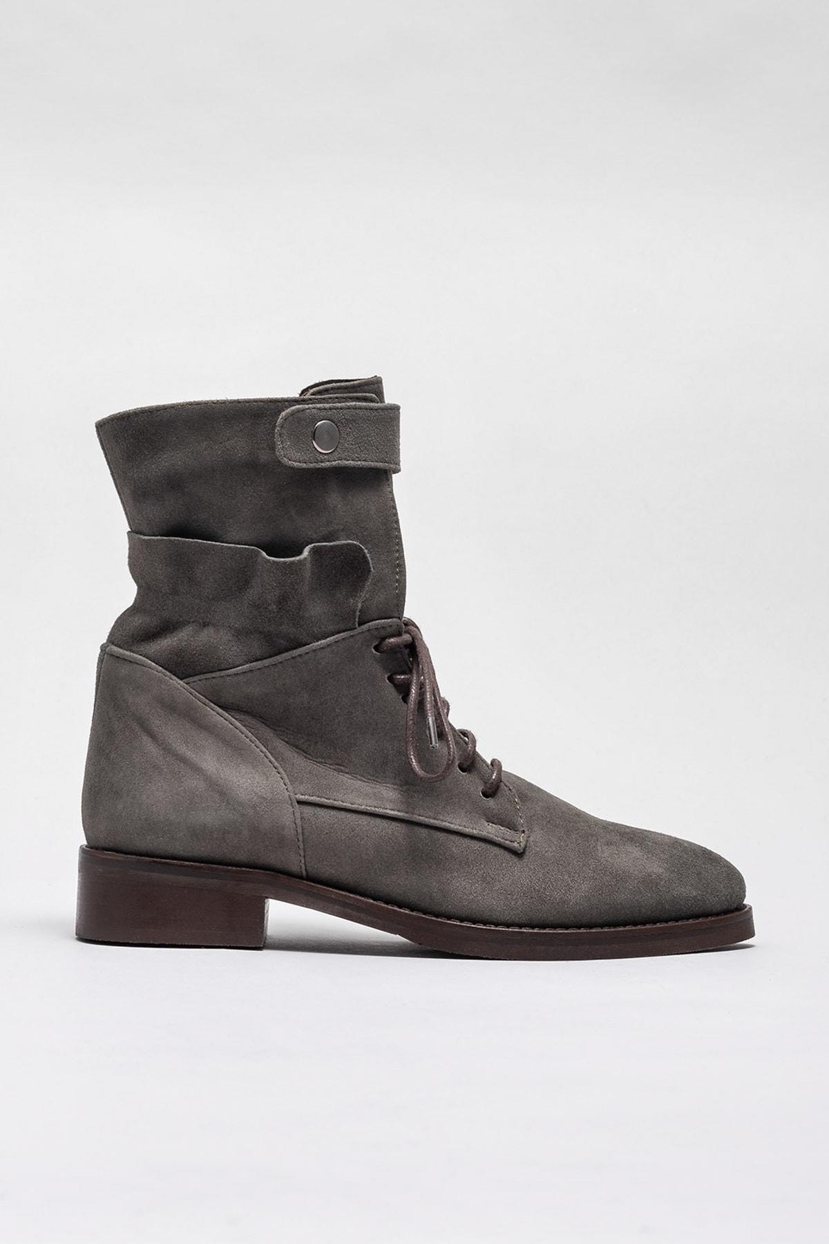 Elle Shoes Kadın Bot & Bootie Rosette-1 20KRE608 1