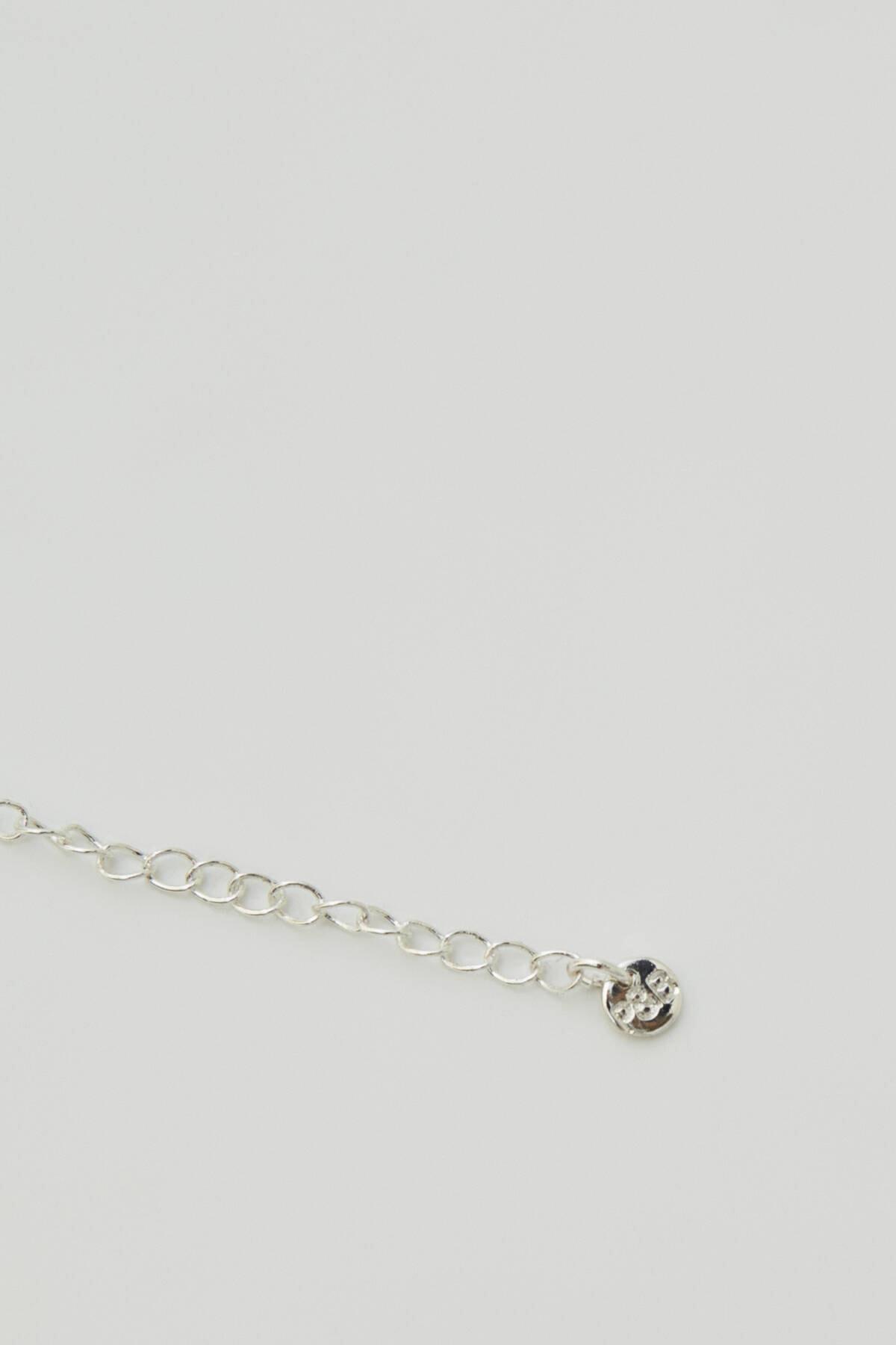 Pull & Bear Kadın Gümüş Velvet Cross Choker Necklace 09996355 2