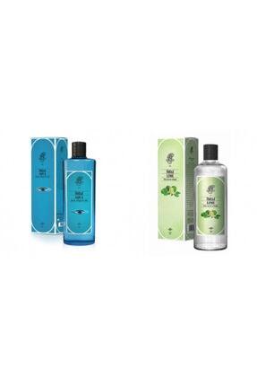 Rebul Aqua + Lime 270 Ml Cam Şişe Set