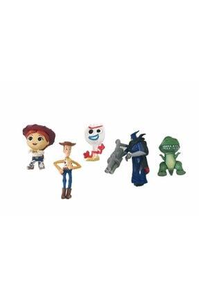 Uçar Oyuncak Oyuncak Hikayesi Toy Story 6 Lı Figür Set - Woddy Buzz Jessi