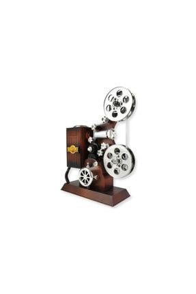 Eminonutoptanci Kurma Mekanizmalı Müzik Kutusu Hediyelik Film Makinası Rulolu