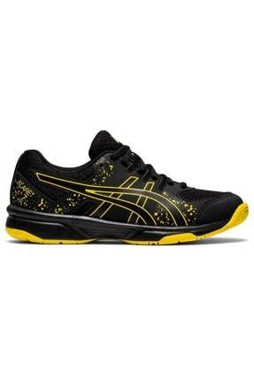 Asics Unisex Çocuk Siyah Sarı Voleybol Ayakkabısı Flare 7 Gs