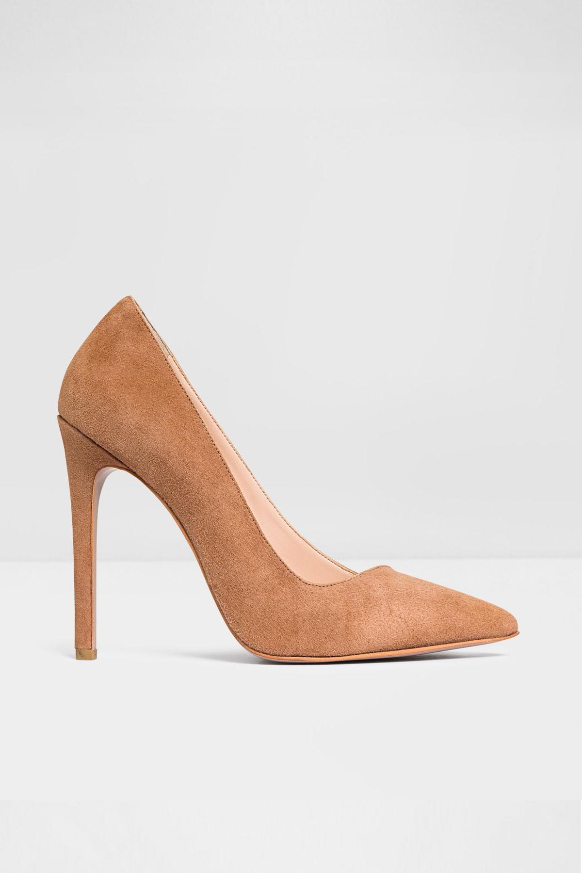 Aldo Kadın Taba Topuklu Ayakkabı 1