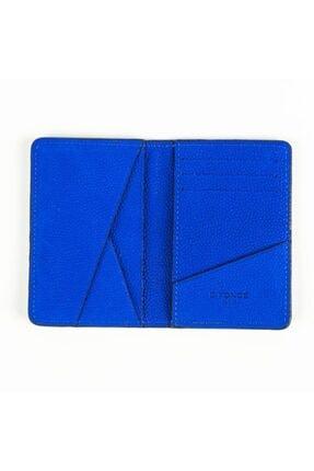 D'Foncé Erkek Mavi Dokulu Deri Cüzdan