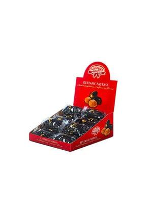 Kardelen 12'li Mekik Çikolatalı Kestane Şekeri