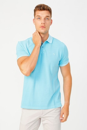 Fabrika Erkek Turkuaz T-Shirt 504529658