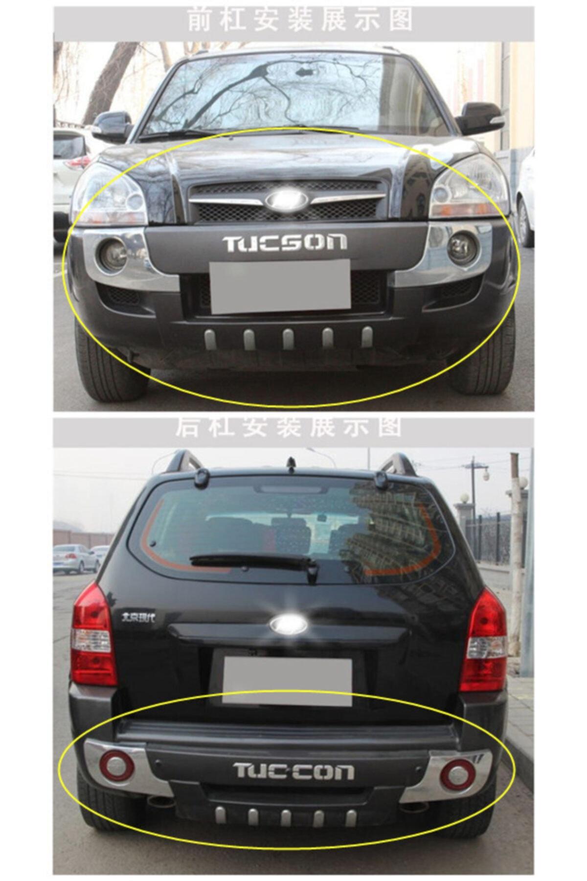 Drs Tuning Hyundai Tucson Ön Arka Tampon Koruyucu 2004 2014 Arası Modellere 1