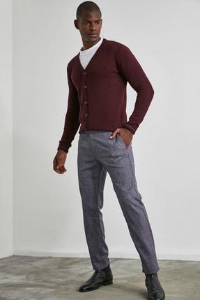 TRENDYOL MAN Bordo Erkek Slim Fit Pantolon TMNAW21PL0180