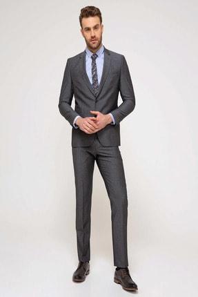 Pierre Cardin Erkek Gri Slim Fit Takım Elbise G021GL001.000.851362