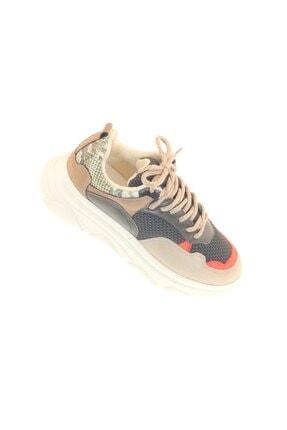 depozoom Kadın Bej Sneaker